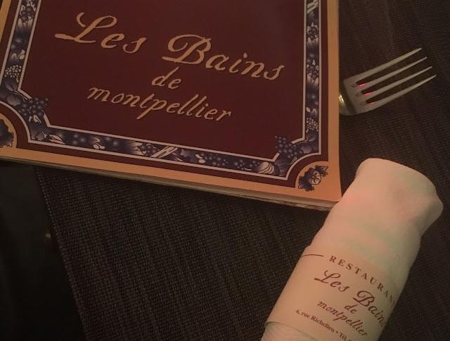 Restaurante Les Bains, en Montpellier (Francia)