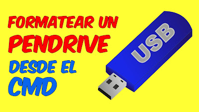 formatear usb con CMD