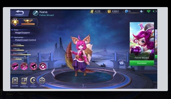 Build Nana Paling Sakti Dan Cara Ampuh Menggunakan Hero Nana