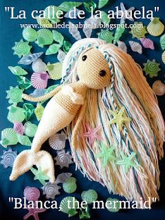 free mermaid doll crochet pattern