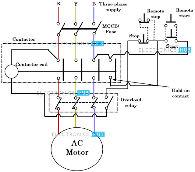 electrical? my hobby!!: PENGHIDUP MOTOR (MOTOR STARTER)