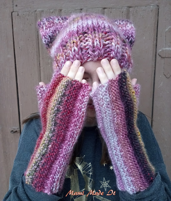 Fingerlose Handschuhe - Fingerless Gloves