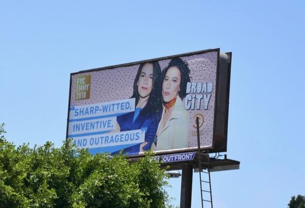 Broad City season 4 Emmy FYC billboard