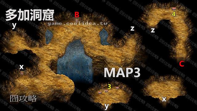 多加洞窟地圖3