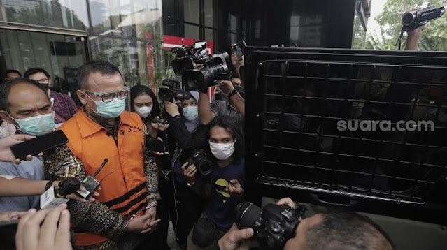 Jaksa Bongkar Isi Chat Anak Buah Edhy Prabowo, Ada Kode '1 Ember'
