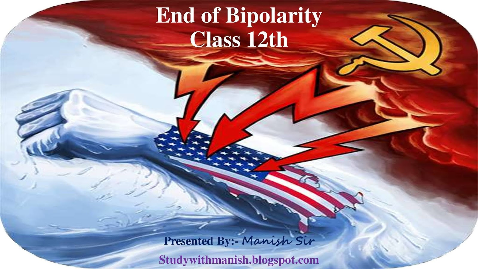 The End Of Bipolarity Ppt Ch 2 Class 12th