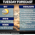 Tuesday August, 24th Forecast