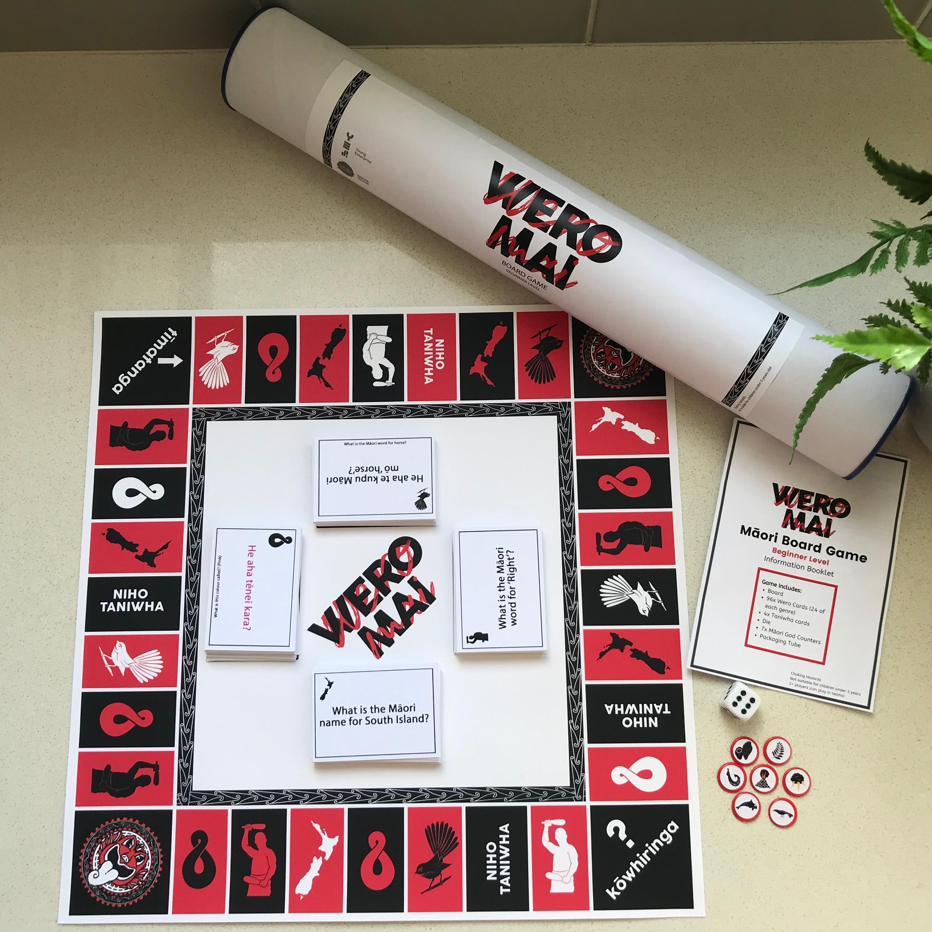 Wero Mai, a Māori board game