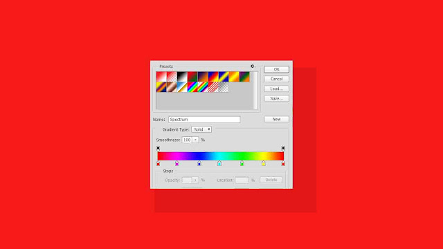 Cara membuat teks warna warni di photoshop