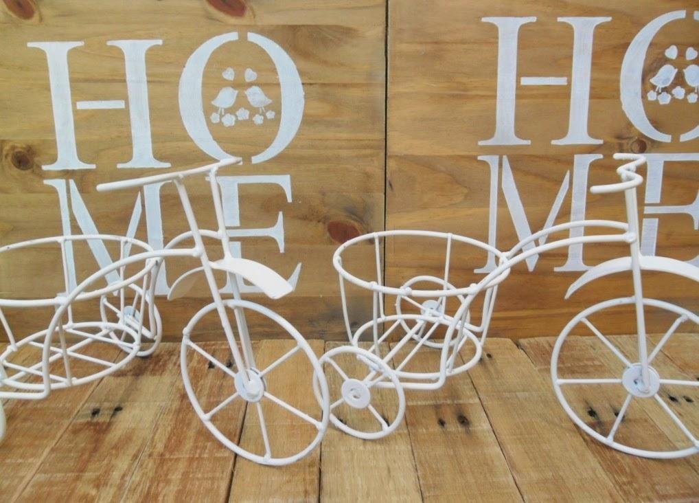 Triciclos con porta macetas tienda deco c for Deco c