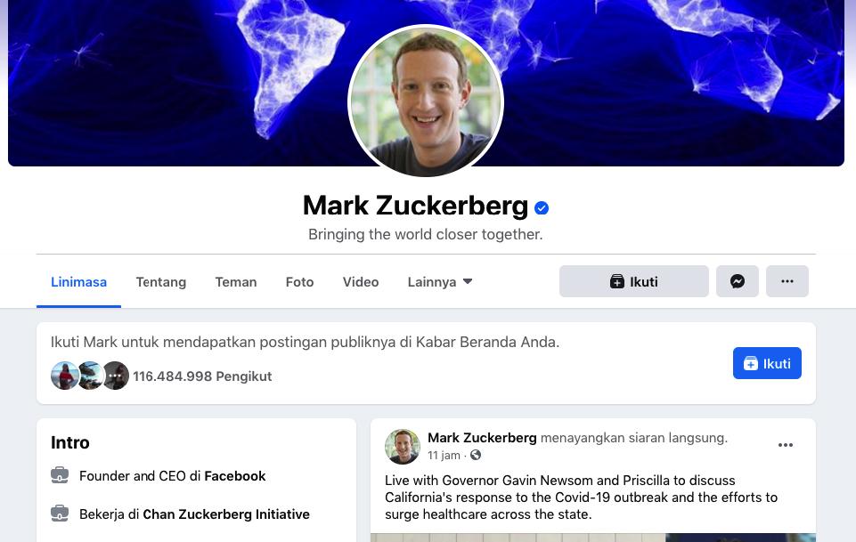 Home Desain Mark Zuckerberg