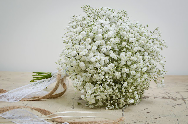bó hoa bi cam tay co dau