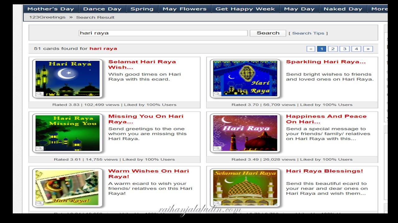 Kad Ucapan Digital Percuma Raihan Jalaludin S Blog