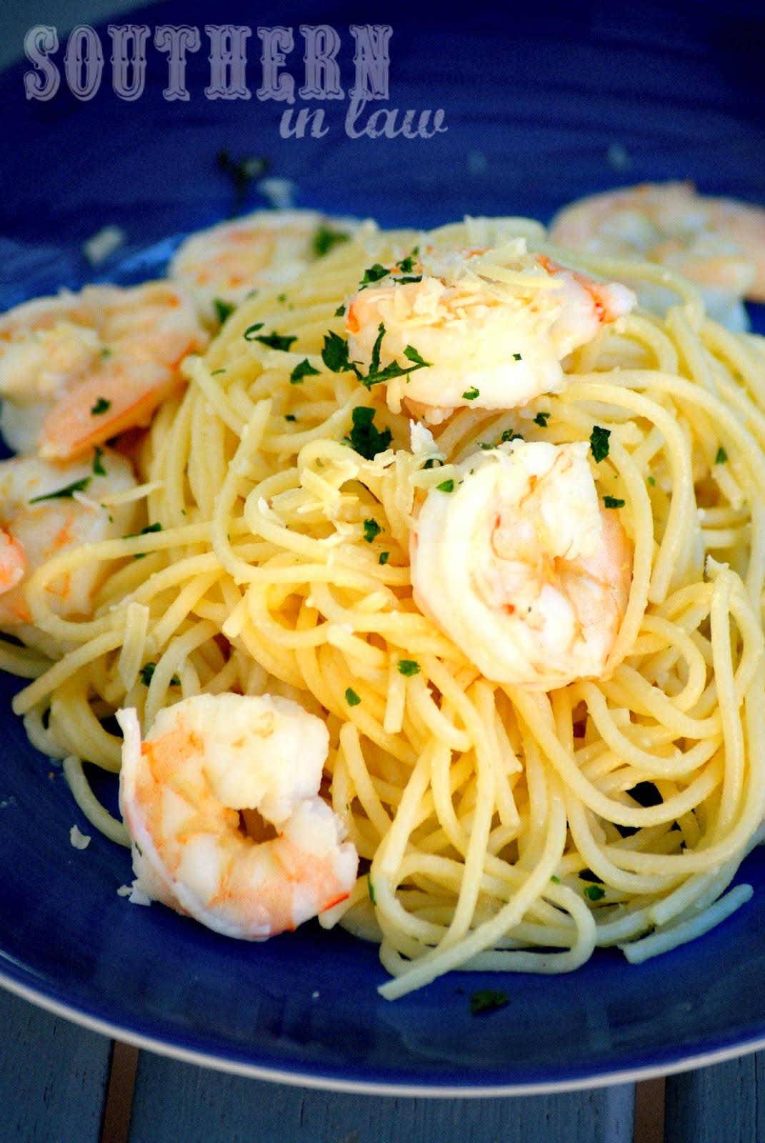 Gluten Free Prawn Spaghetti Recipe - gluten free, low fat, clean eating friendly, healthy spaghetti recipe