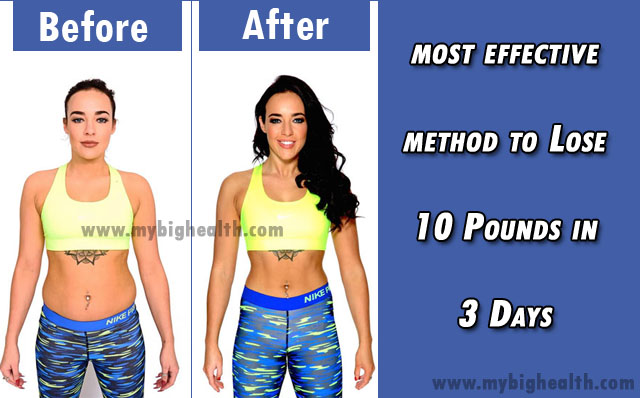 weight loss diet in 10 days