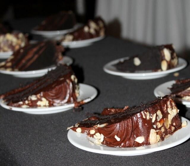 Shamrock Foods chocolate cake