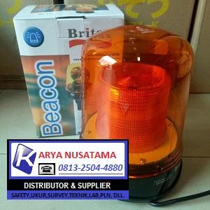 Jual Lampu Mobil Britax 24V LED Kuning di Lampung
