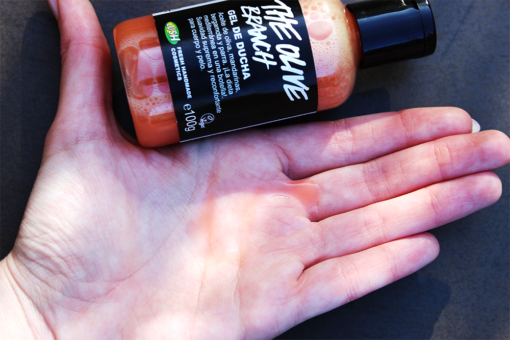 Lush The Olive Branch shower gel product