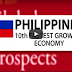 Philippines 10th Fastest Growing Economy in The Whole World This Year 2017