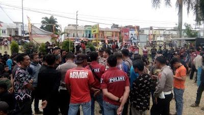 Dihadapan Kapolsek, Ini Dia Tuntutan Ratusan Anggota PSHT di Mapolsek Rimbo Bujang