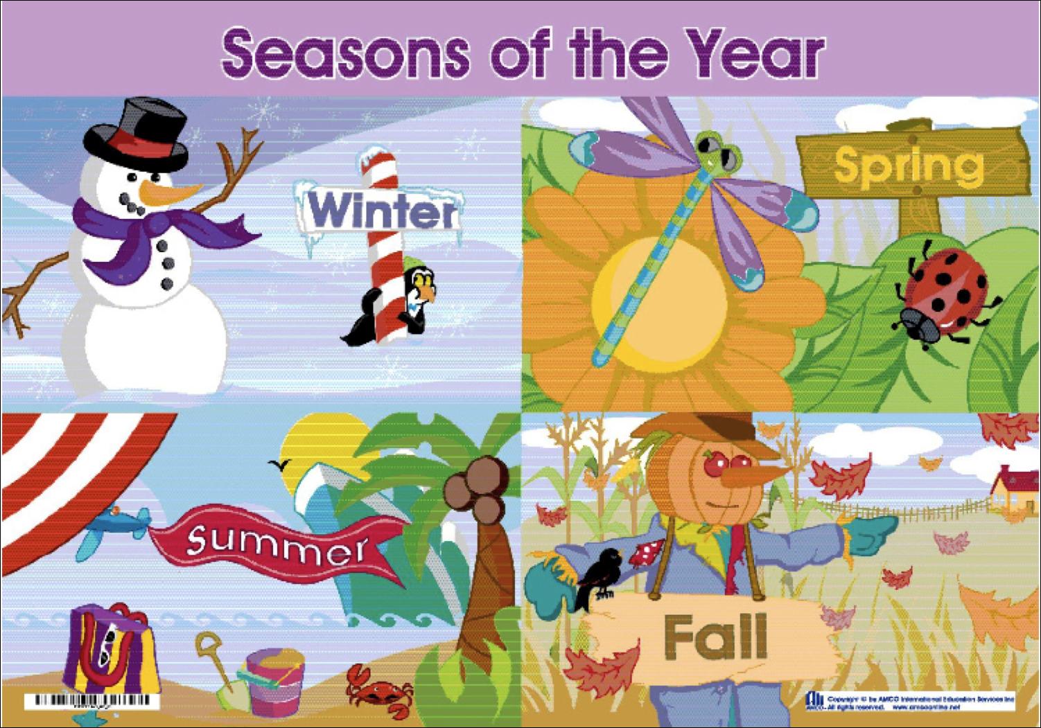 Aldoenglish I Seasons Of The Year