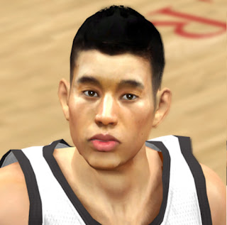 NBA 2K13 Improved Jeremy Lin Cyber Face Patch