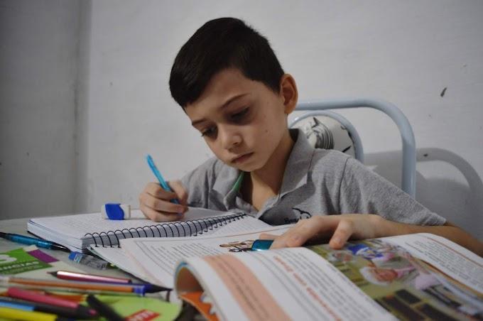 Secretaria de educação de Grossos disponibiliza cadernos de atividades para consulta e apoio aos pais e professores