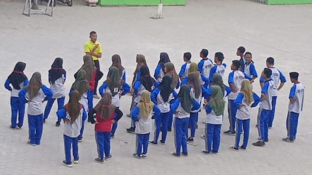 Olahraga di SMK Yasmida Ambarawa sangat menyenangkan