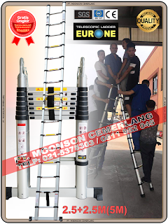 Tangga Teleskopik-5M