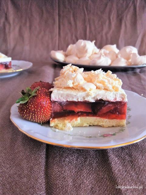 Ciasto Truskawkowa Chmura przepis