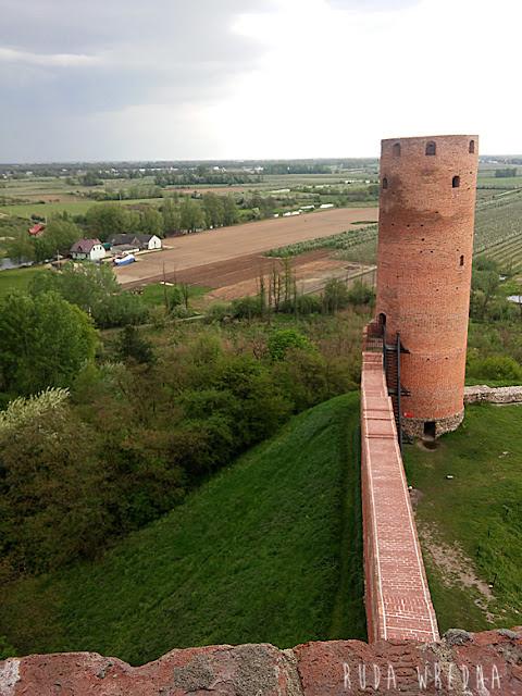 czersk, zamek w czersku