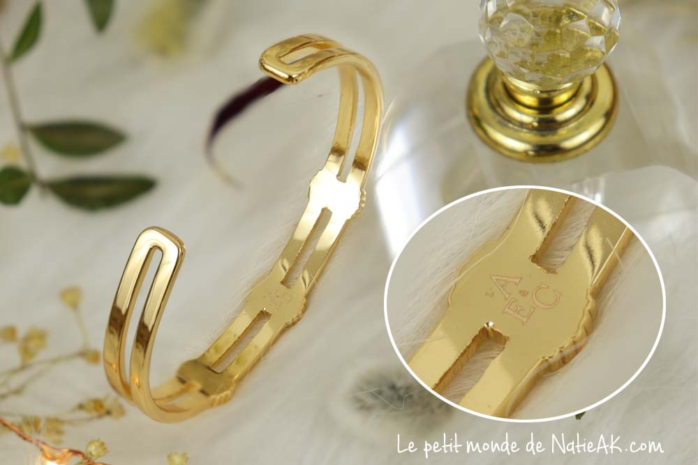 Emma et Chloé box bijou bracelet jonc