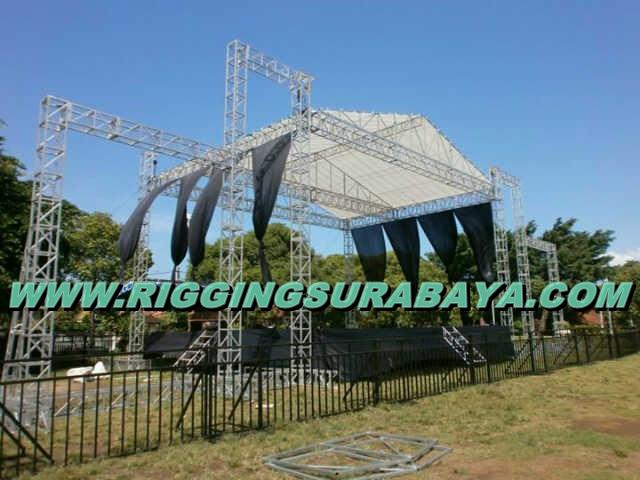 Ukuran Panggung Rigging konser