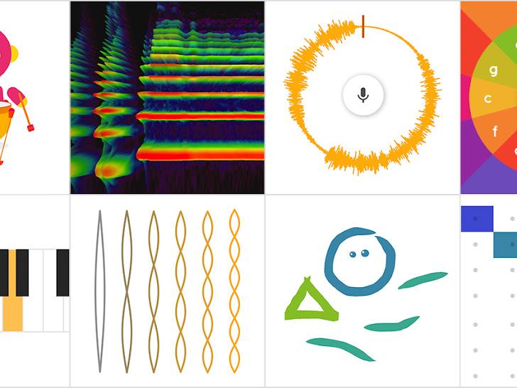 Apprendre la musique, l'art, les sciences, les mathématiques et bien plus avec Chrome Music Lab