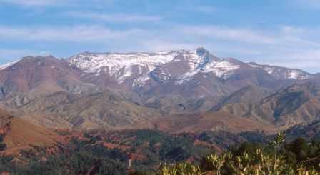 Pegunungan Atlas Afrika