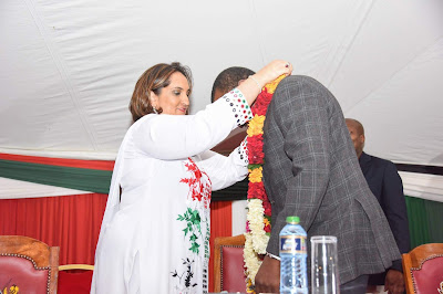 President Uhuru Kenyatta endorsed by the Asian Community. PHOTO | Courtesy