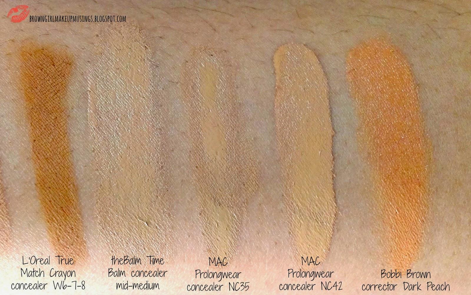 Brown Girl Makeup Musings Pick Or Purge Concealers