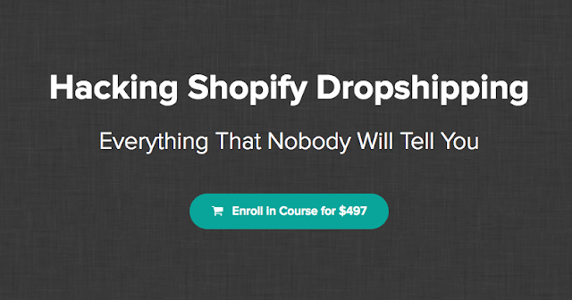 Hacking Shopify Dropshipping Course Free Download