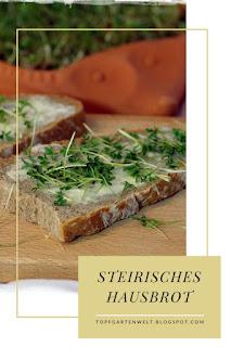 {Buchvorstellung mit Rezept}  klassisches Steirisches Hausbrot #brot #hausbrot #brotselbermachen #brotbacken #universalbrot #steirischeshausbrot #originalrezepte - Foodblog Topfgartenwelt