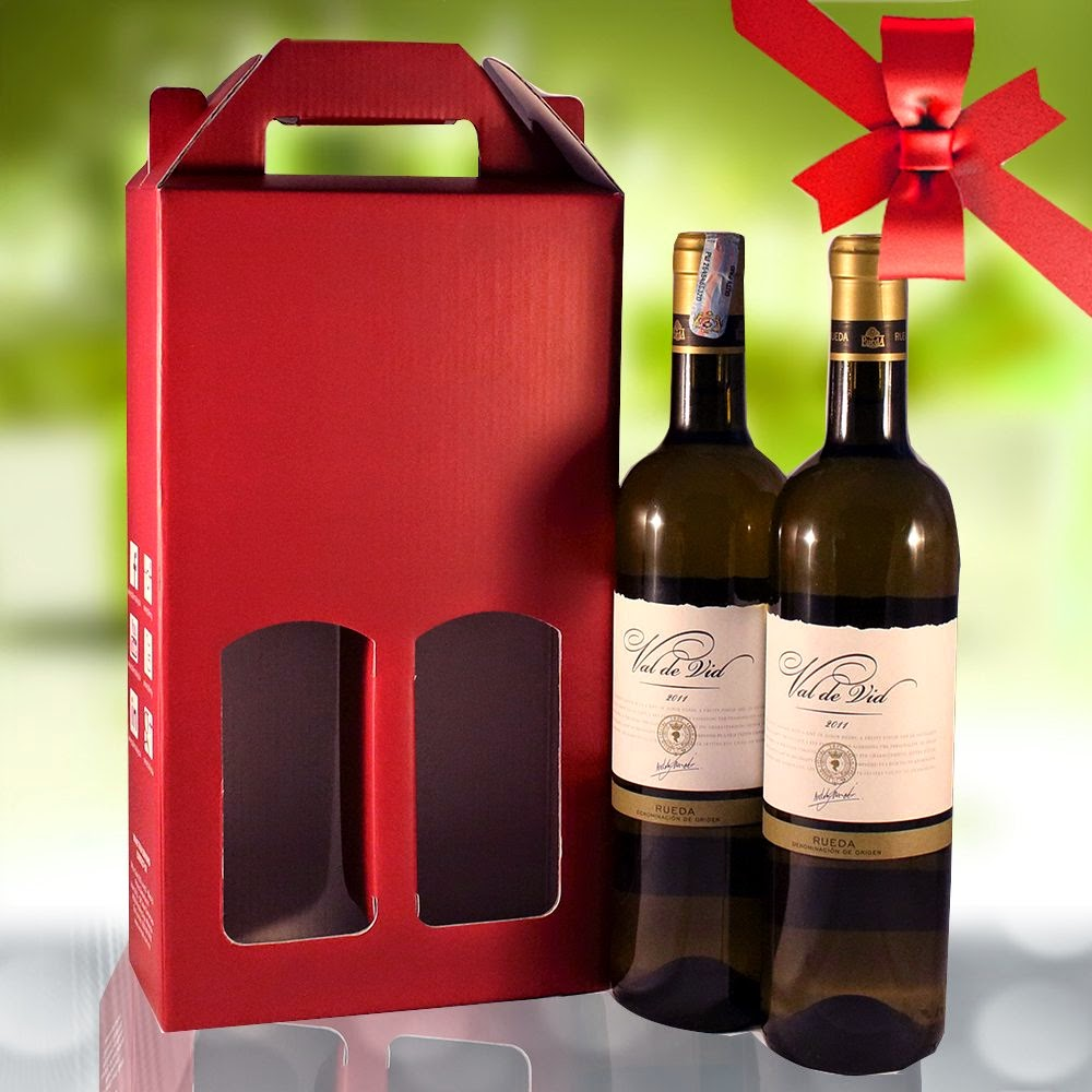 Good Wine Gifts For Christmas Part - 11: Spanish-white-wine-gift-set-with-free-box