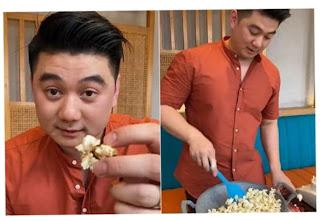Chef Arnold Bocorkan Resep KPOP Popcorn yang Dibeli Hotman Paris Rp50 Juta! Yuk Simak!