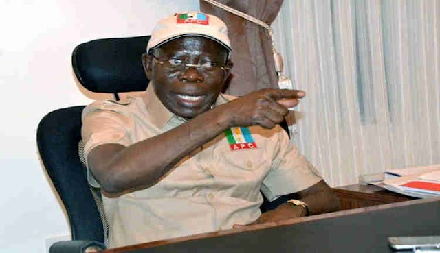 BREAKING: Oshiomhole reacts as APC takes over Edo House of Assembly