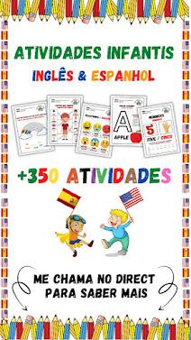 O ALFABETINHO – Inglês & Espanhol