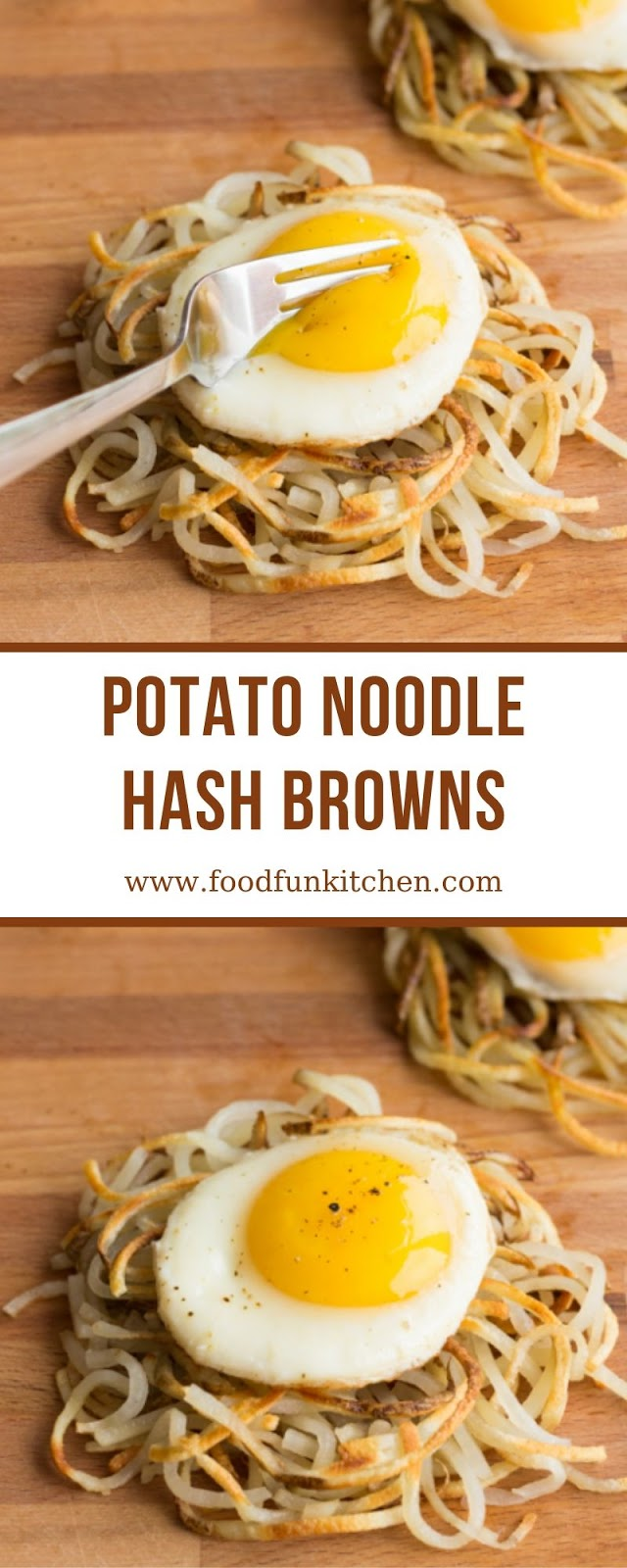 POTATO NOODLE HASH BROWNS