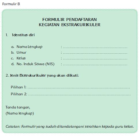 Formulir Halaman 10 Belajar Kurikulum 2013