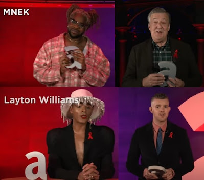 Layton Williams, Russell Tovey, MNEK and Stephen Fry Attitude Awards 2020