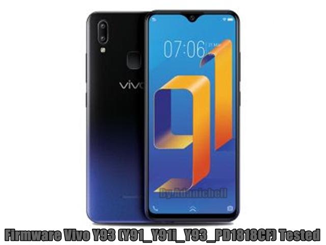 Firmware Vivo Y93 (Y91_Y91i_Y93_PD1818CF) Tested
