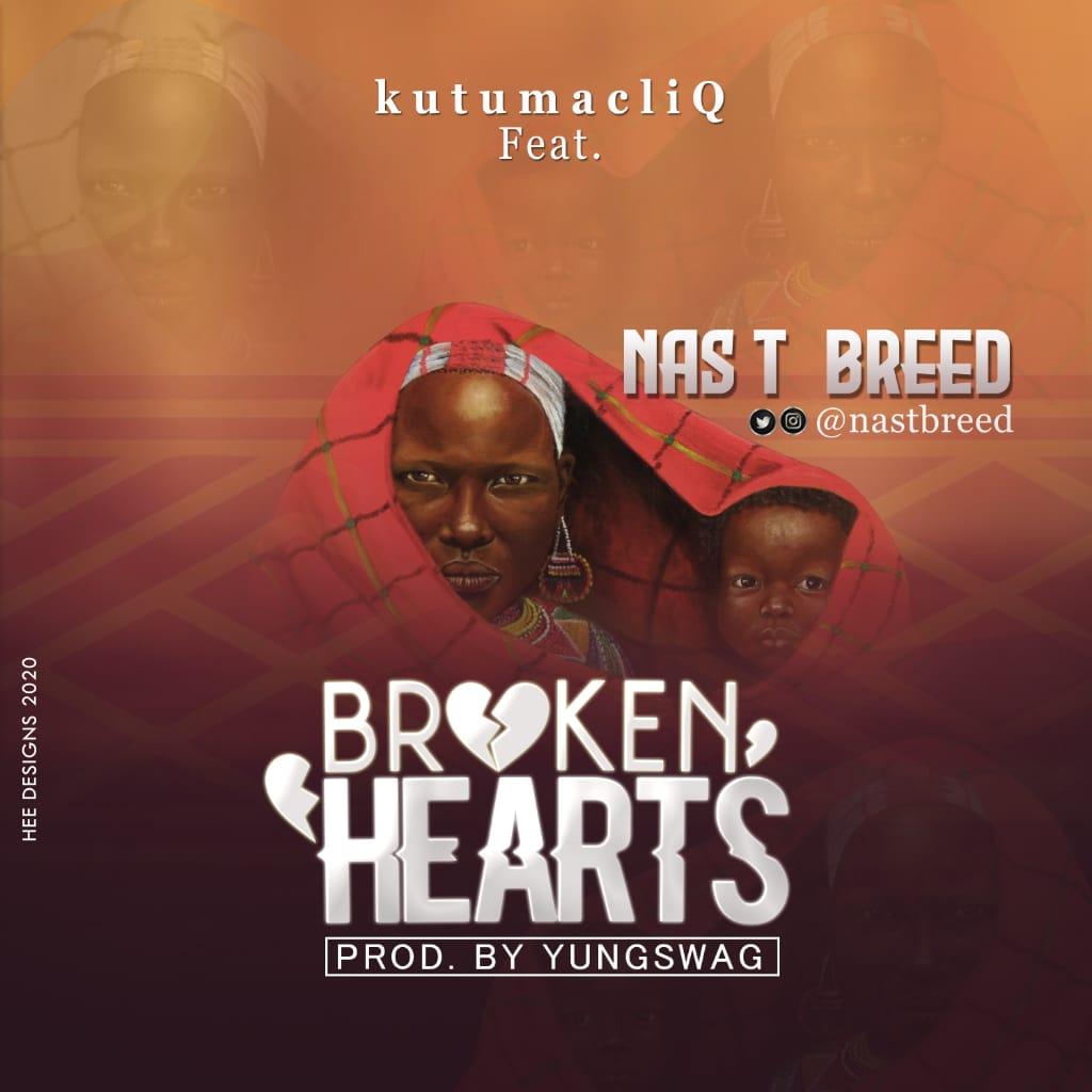 Download Music: KutumacliQ Ft. Nas T Breed — Broken Hearts #Arewapublisize