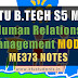 Note for ME373 Human Relations Management | S5 ME Elective Module-1