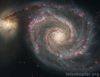 whirlpool galaksisi nedir?